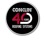 Conklin 40 Year Logo